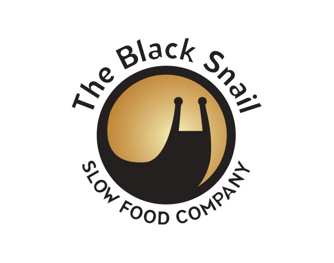 The Black Snail Slow Food Company - Logo design for organic food range based in the Otways