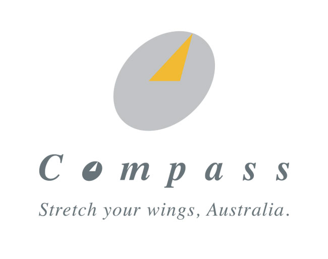 Compass Airlines - Logo Design and Livery for Australia's first new airline
